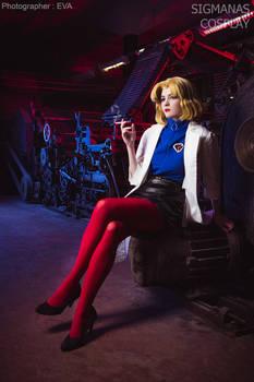 Ritsuko Akagi Evangelion cosplay