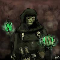 Lacenor - undead wizard