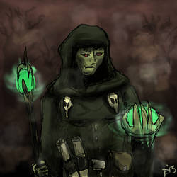 Lacenor - undead wizard by TheLittlePsycho
