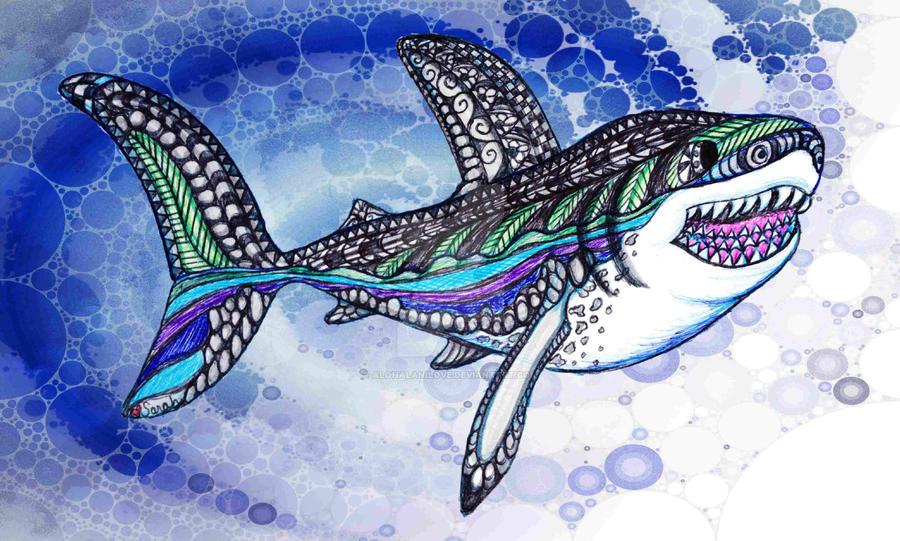 Katie's Shark by Alohalanilove
