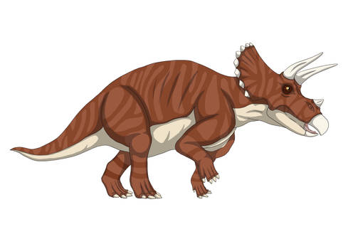 Triceratops (Brown)