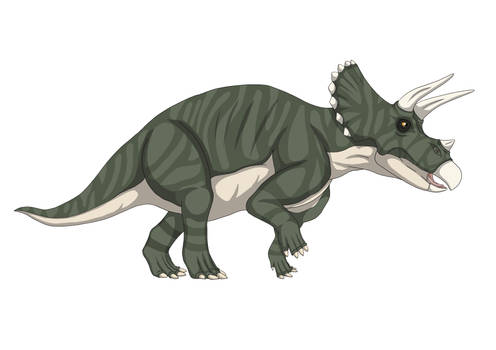 Triceratops (Green)