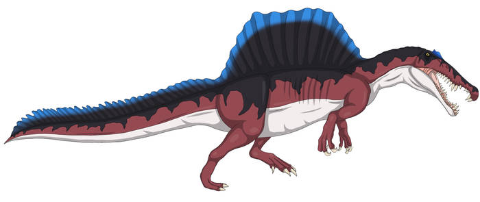 Spinosaurus (Red)