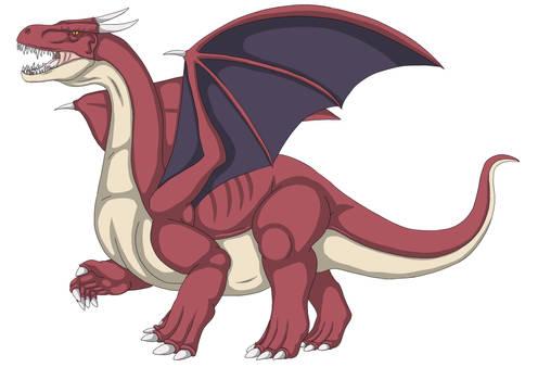 Tyrant Dragon (Red)