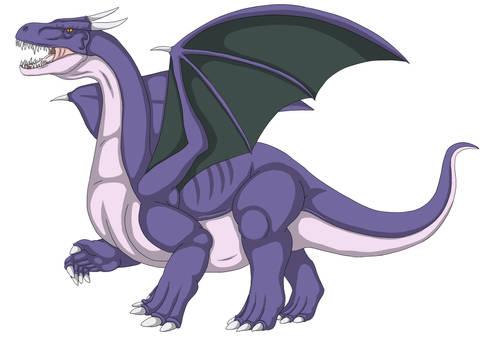 Tyrant Dragon (Purple)