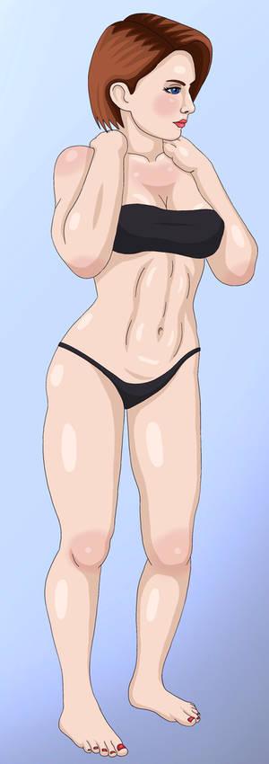 Jill Valentine (Muscular)