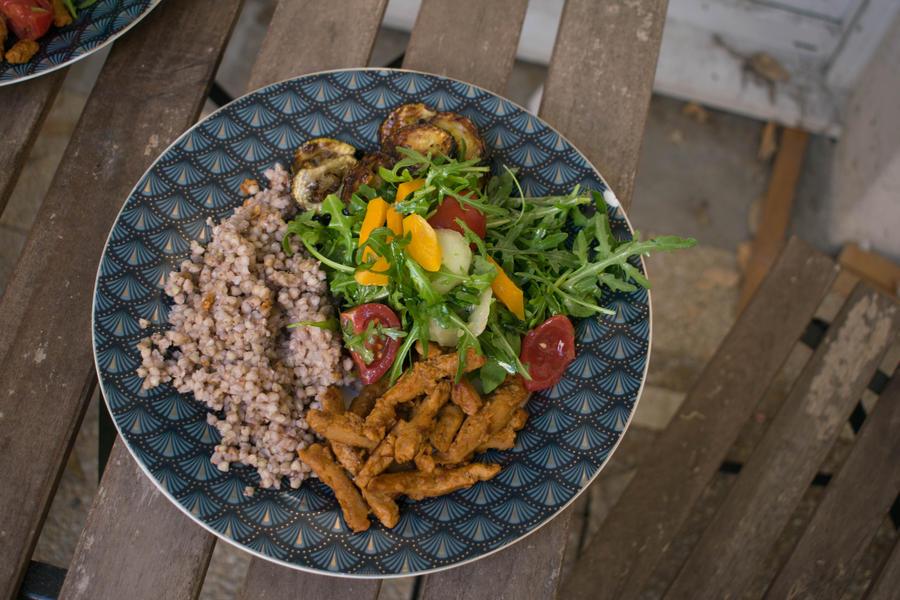 Veggie plate by MisterTryster