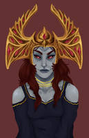Queen Barenziah by mintpencil