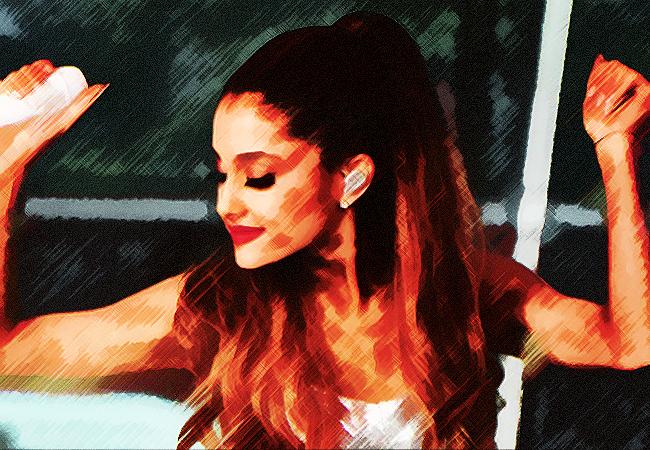 Ariana Grande by zarkhaiz