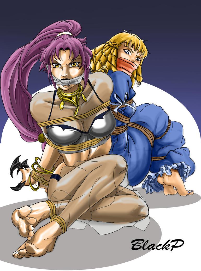 Arlyn and Elvina by BlackProf