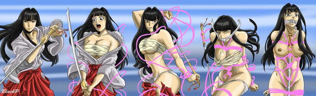 The evolution of Motoko Aoyama by BlackProf