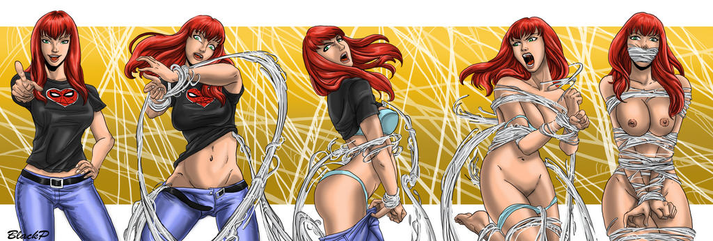 The evolution of Mary-Jane Watson by BlackProf