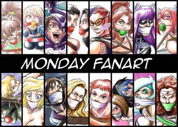 Monday fanart by BlackProf