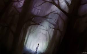 Dark forest by LuiferBlackArt