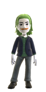 Xbox Avatar - Joker by Exploding-Spaceman
