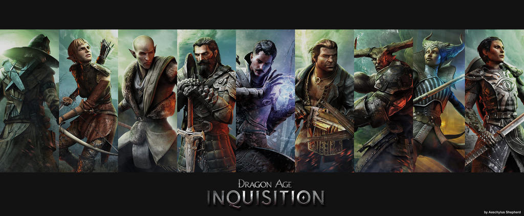 Dragon Age Inquisition Wallpaper3 By Aeschylusshepherd On