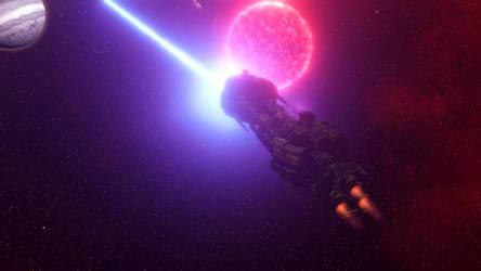 Stellaris - Enemy ship destroyed by Bisougai