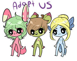 Free Adopts (closed) by ClassicGamerGirl