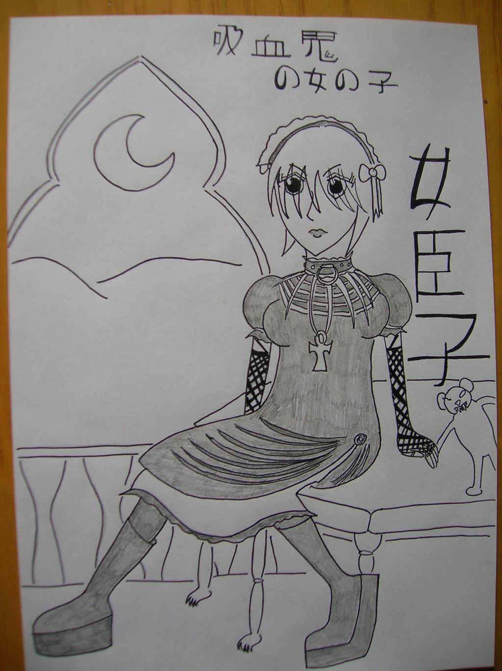 Vampyre Goth by saramarconato