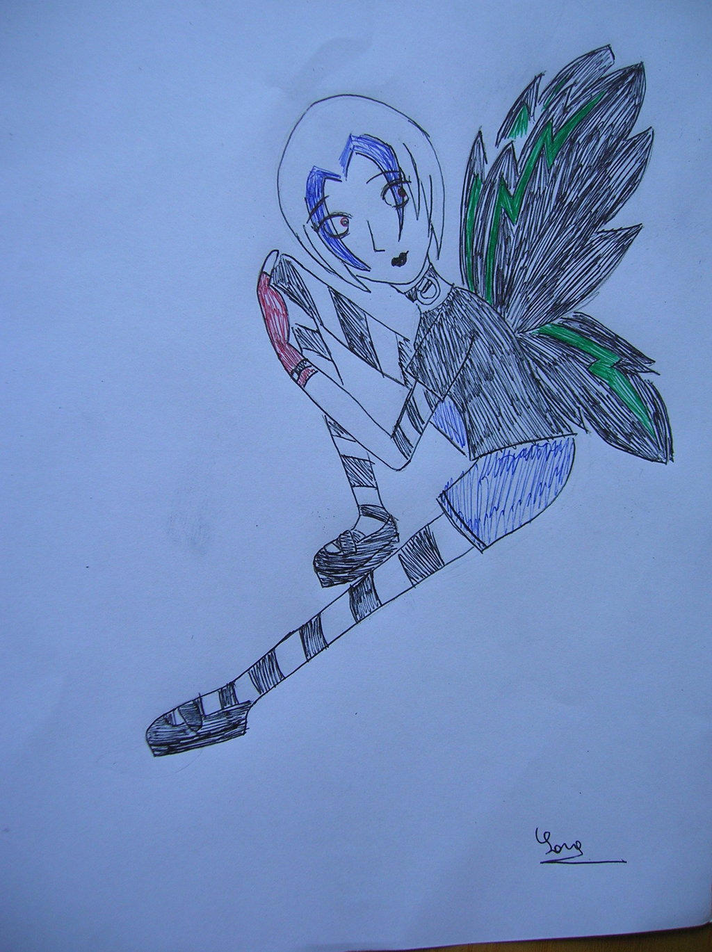 Punk Fairy by saramarconato