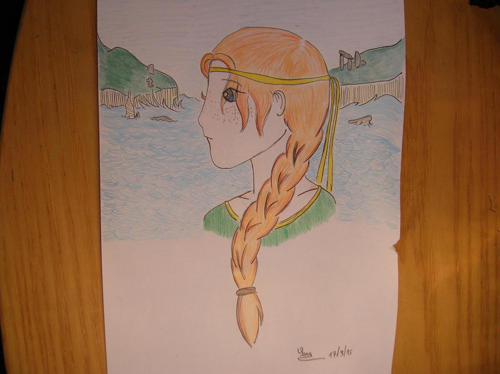 Celtic princess by saramarconato
