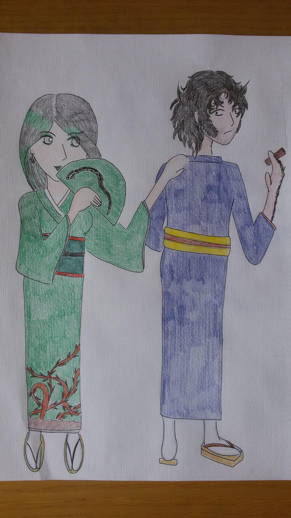 Viper and Logan by saramarconato