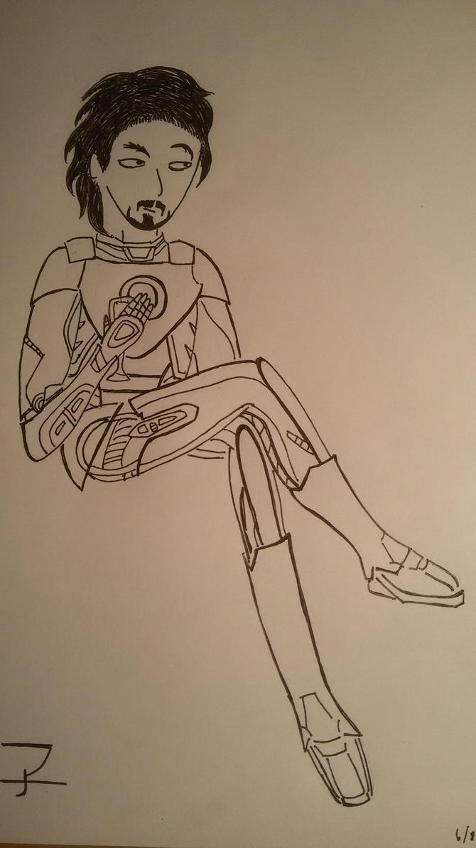 Anthony Howard Stark by saramarconato