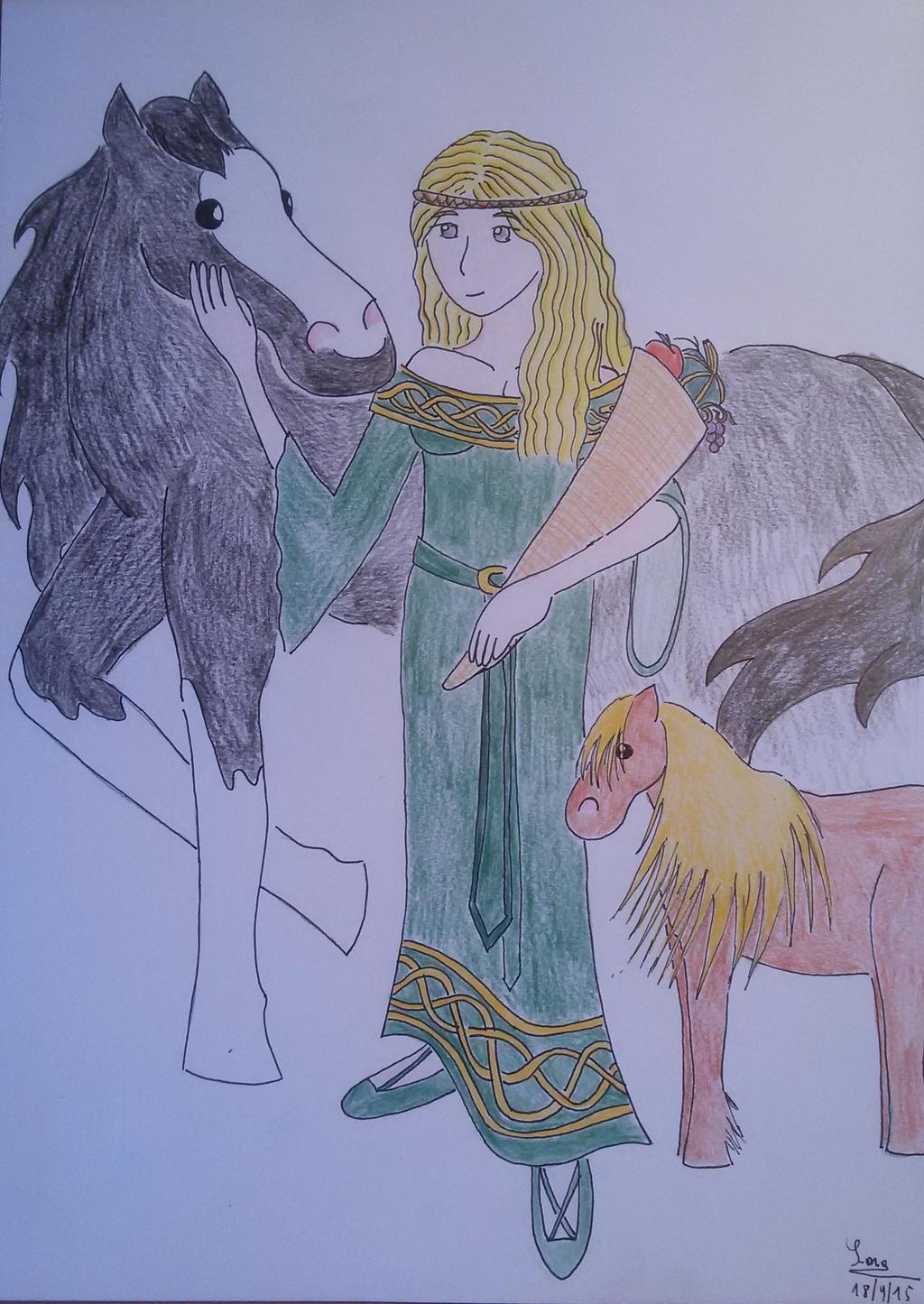 Epona by saramarconato