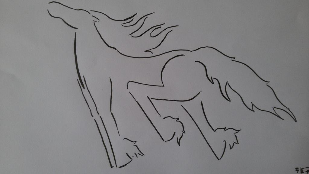 Horse by saramarconato