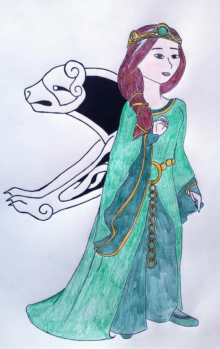 Queen Elinor of DunBroch by saramarconato