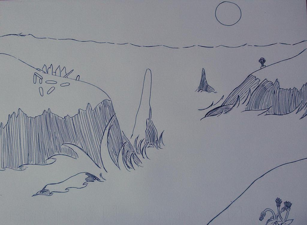 Celtic landscape by saramarconato