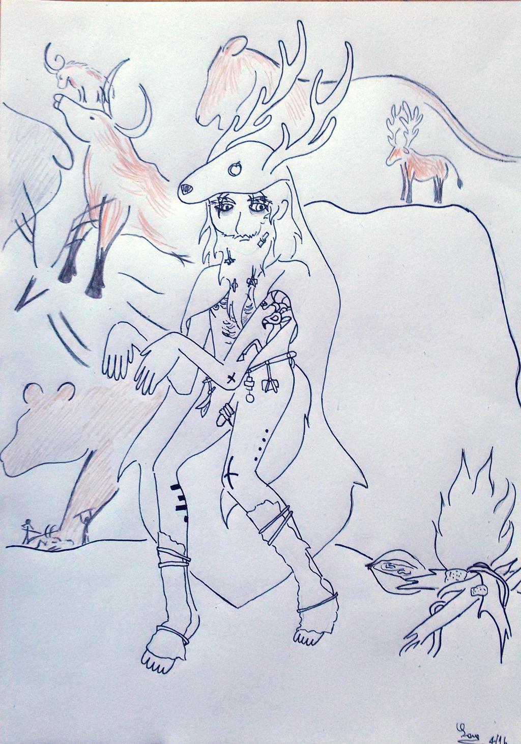Sorcerer by saramarconato