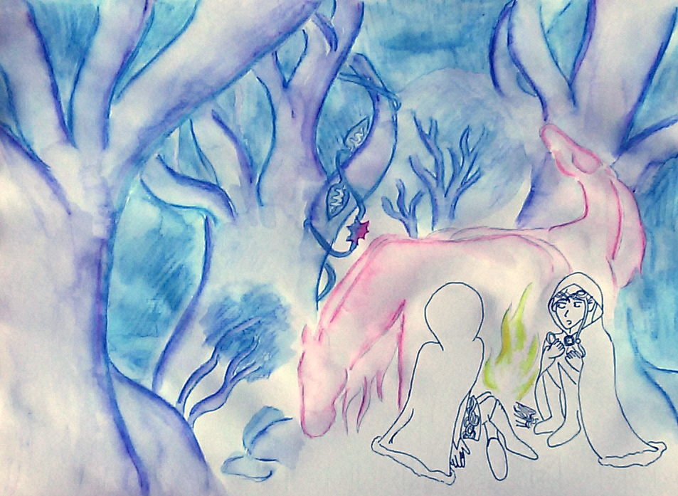 The journey of two Elves by saramarconato