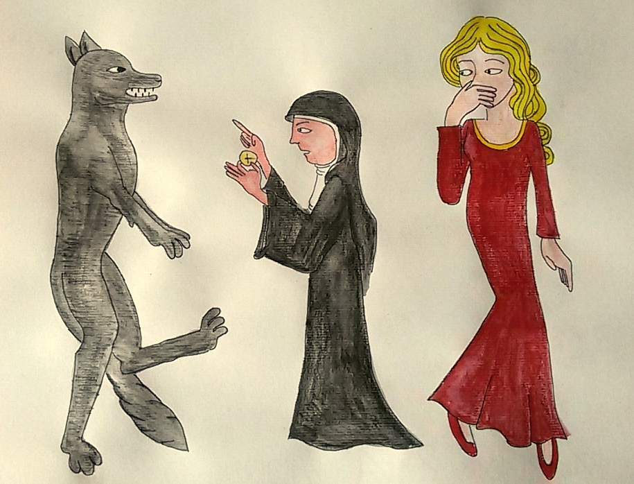 The Werewolf by saramarconato