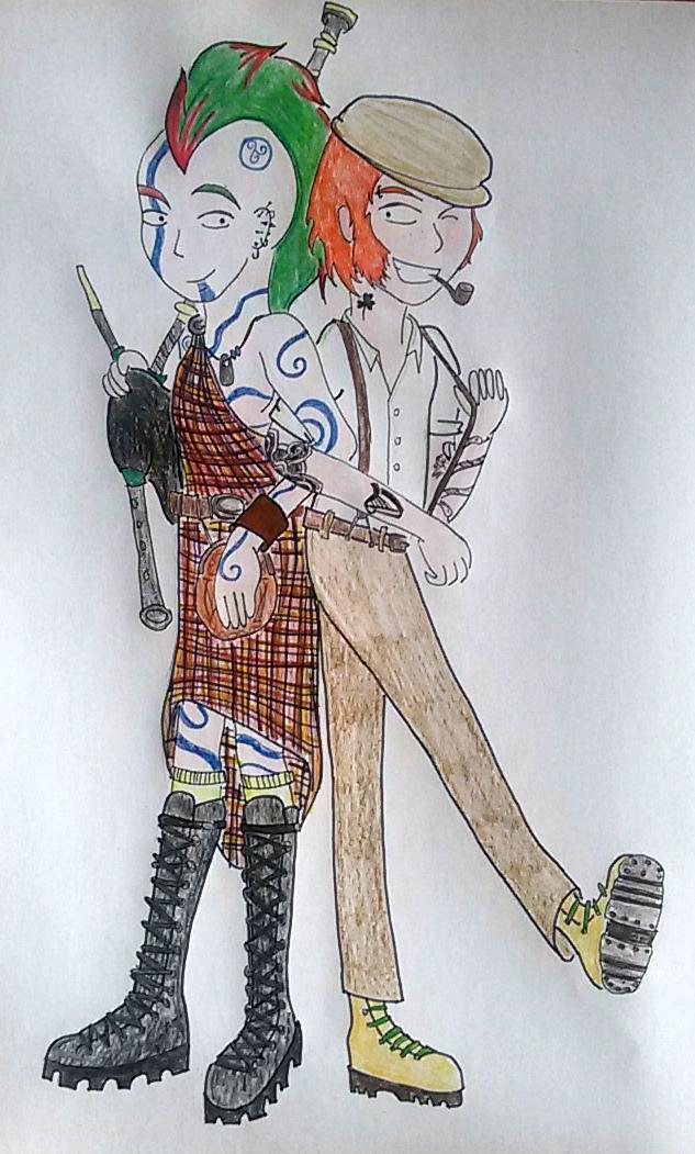 Celtic Punk by saramarconato
