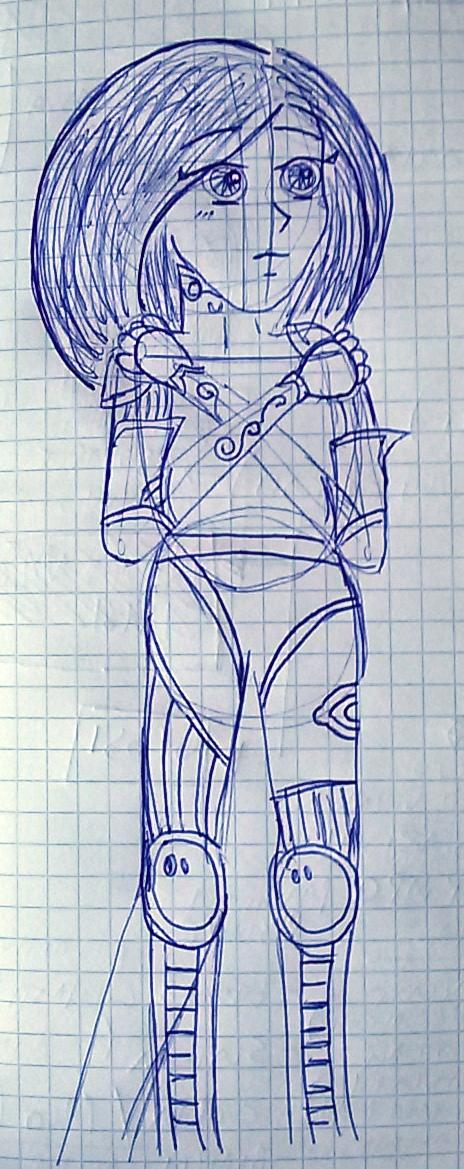 ALITA  (or Gally or Yoko)  GUNNM by saramarconato
