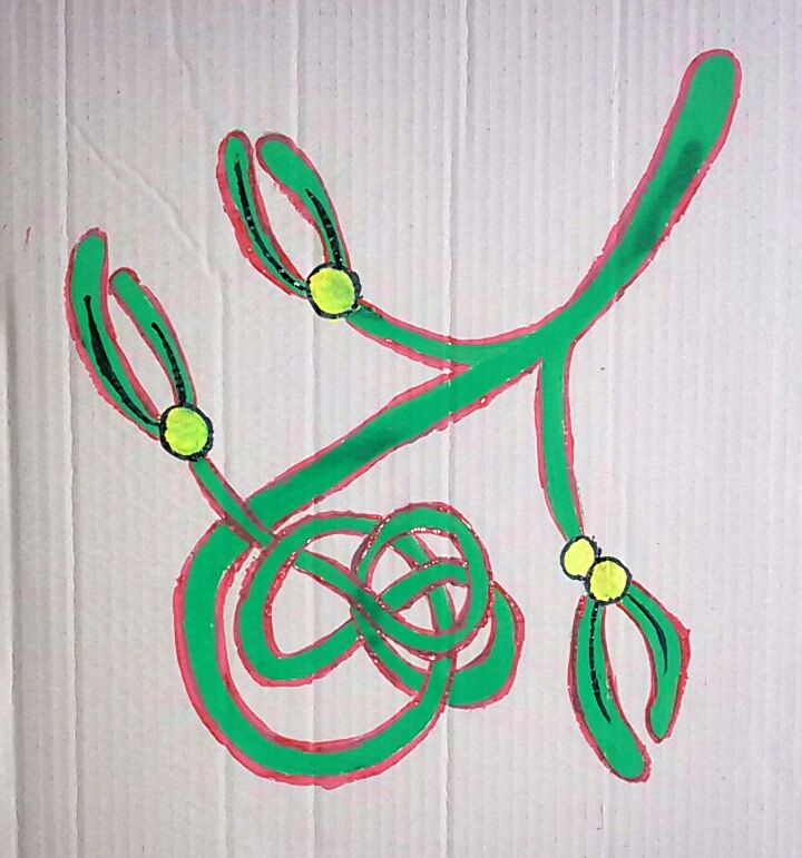Celtic Mistletoe by saramarconato