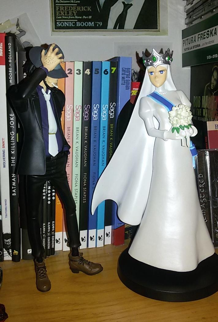 Jigen and Clarisse by saramarconato