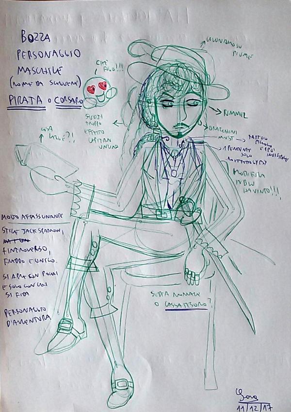 Pirate: Draft by saramarconato