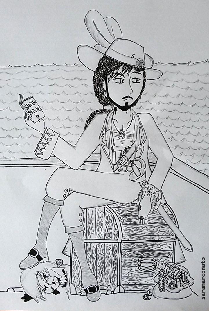 Corsair Captain by saramarconato