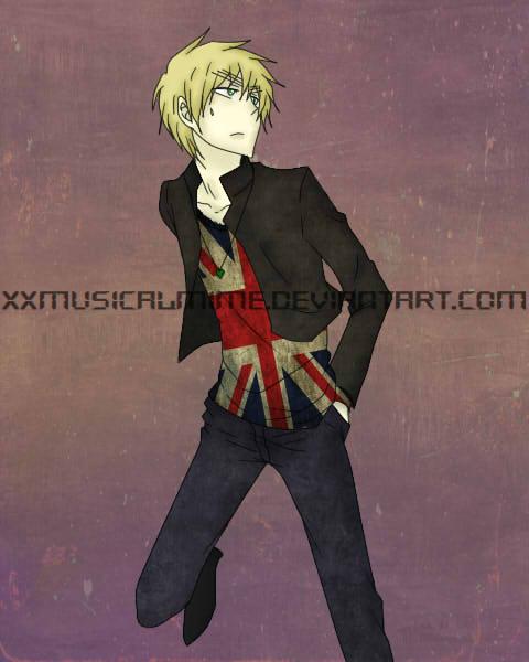 Hetalia: Exceptional England by xxMusicalMime