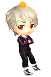 Chibi! Prussia ~ Looking at you
