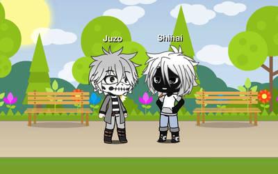 (Gacha Life)Juzo Honenuki and Shihai Kuroiro(BNHA) by IggyAlfi2319