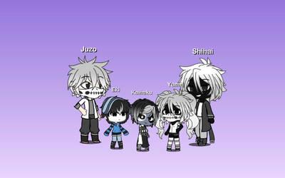 (Gacha Life) Black and White family (BNHA) by IggyAlfi2319