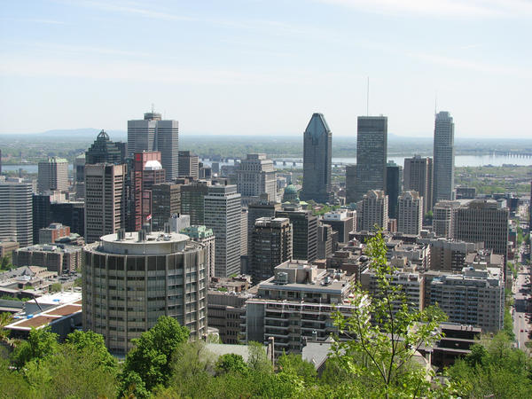 Montreal Downtown by code