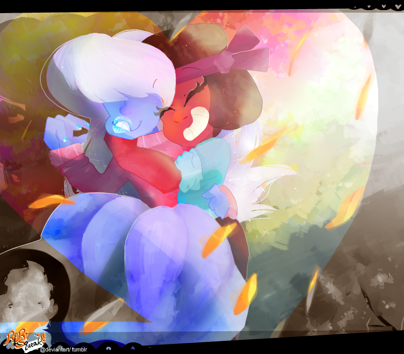 I was trying to do a painting on the computer... it kinda works though, its just 110% more awful X'D But hey, Ruby and Sapphire need more than enough fanart because they are WONDERFUL Other than th...