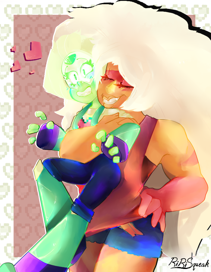 """"""" No Jasper, I am not!! """" (o'//m//'o So I tried to draw with the airbrush mainly, I don't think thats gonna be happening again any time soon X'D I'm sorry for the colours being so eye-sore, I'll tr..."""