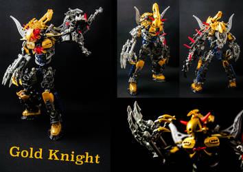 Gold Knight by SkrallRazor
