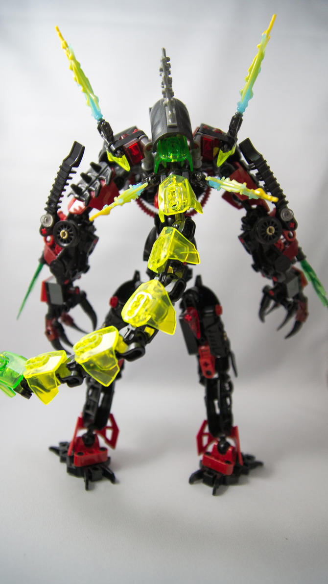 Skrall Razor, Electric Beast (Back) by SkrallRazor