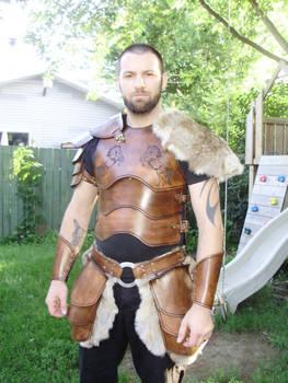Armor set ''The rider''